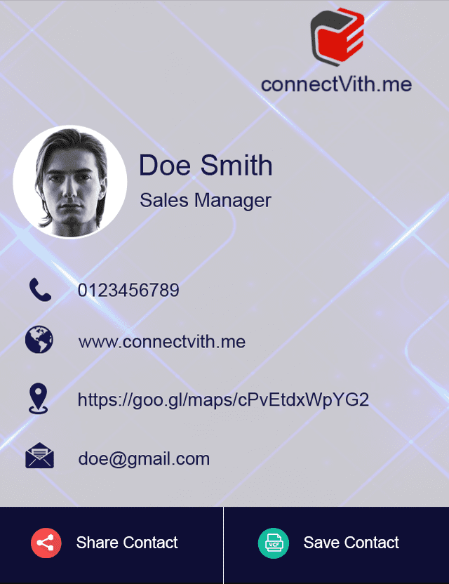 Digital Business Card Design 8
