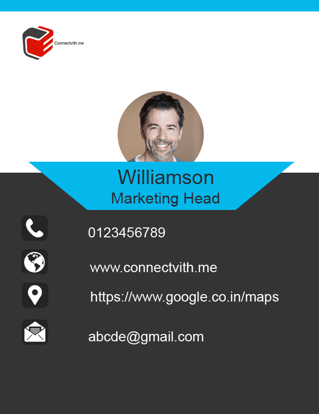 Digital Business Card Design 1